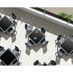 Krzesło FLORIDA ciemnoszare