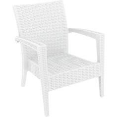 Fotel MIAMI biały