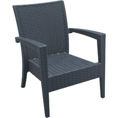 Fotel MIAMI ciemnoszary