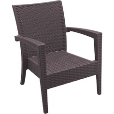 Fotel MIAMI brązowy