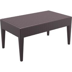 Stół MIAMI 90 brązowy
