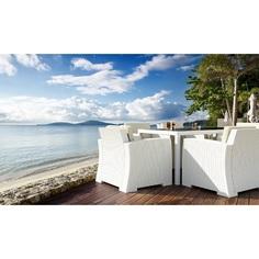 Stół TAHITI biały