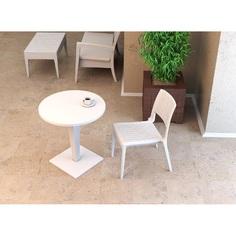 Stolik RIVA BAR 70 biały