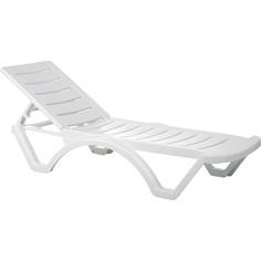 Leżak AQUA biały