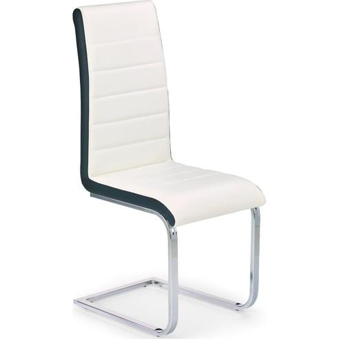 K132 krzesło biało-czarny