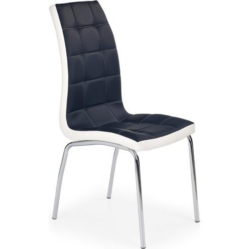 K186 krzesło czarno - białe