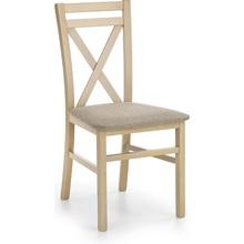 Klasyczne Krzesło drewniane tapicerowane DARIUSZ dąb sonoma/Inari 23 Halmar do kuchni, salonu i jadalni.
