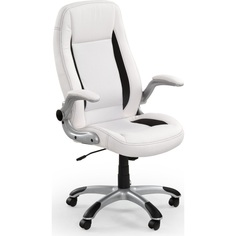 Fotel gabinetowy SATURN biały Halmar