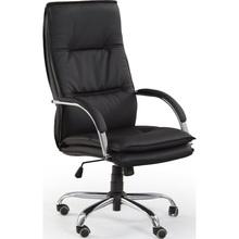 Fotel gabinetowy STANLEY czarny Halmar do biurka.