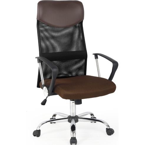 VIRE fotel pracowniczy brązowy