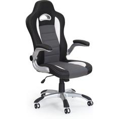 LOTUS fotel gabinetowy czarno-popielaty