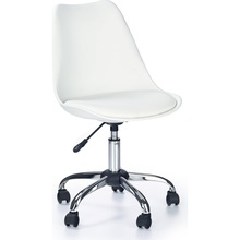 Fotel młodzieżowy do biurka COCO biały Halmar.