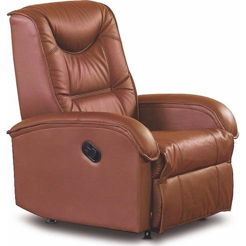 JEFF fotel brązowy ekoskóra