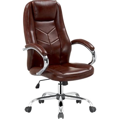 CODY fotel gabinetowy brązowy