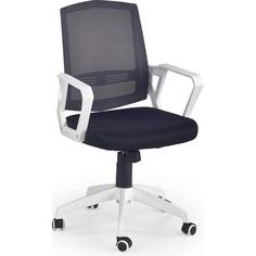 ASCOT fotel pracowniczy czarno-popielaty-biały