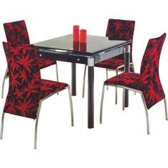 KENT stół rozkładany czarny