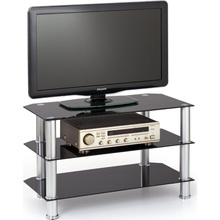 Stolik RTV21 TV 80 czarny Halmar pod telewizor do salonu i sypialni.