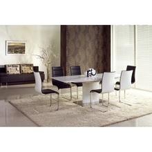 Stół rozkładany na jednej nodze MARCELLO 180x90 biały Halmar do kuchni.