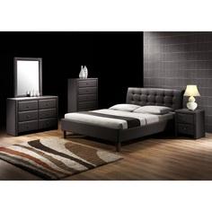 Łóżko SAMARA czarne Halmar