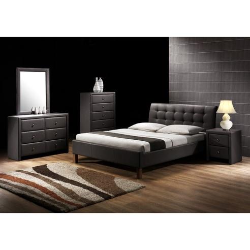 SAMARA łóżko czarny