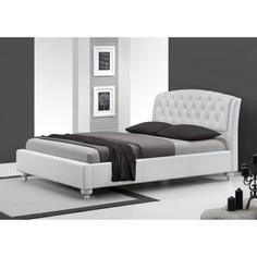 SOFIA łóżko białe Halmar