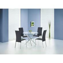 RAYMOND stół bezbarwny/chrom