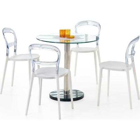 CYRYL stół bezbarwny