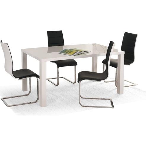 RONALD stół biały rozkładany 120÷160/80