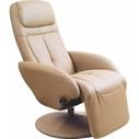 Stylowy Fotel recliner OPTIMA beżowy Halmar do salonu.
