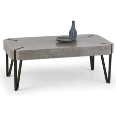 EMILY ława beton / czarny