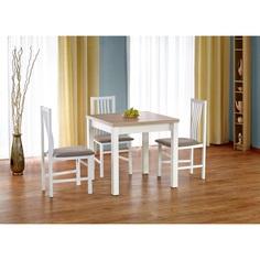 GRACJAN stół kolor dąb sonoma / biały