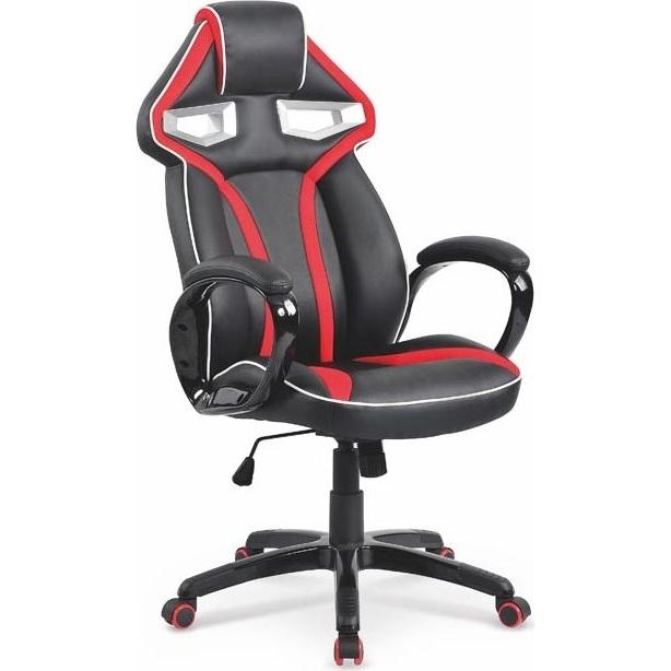 DIABLO fotel gabinetowy czarno-czerwony