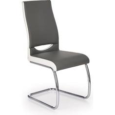 K259 krzesło popiel / biały