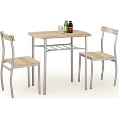 LANCE zestaw stół + 2 krzesła dąb sonoma
