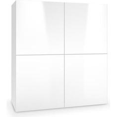 LIVO KM-100 komoda stojąca biały