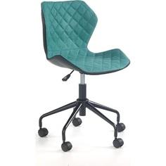 MATRIX fotel młodzieżowy czarny / turkusowy