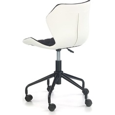 MATRIX fotel młodzieżowy biały/czarny