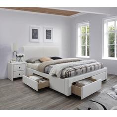 MODENA 2 łóżko biały