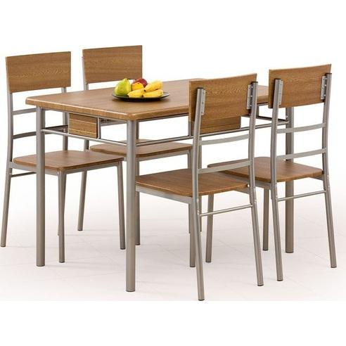 NATAN zestaw stół + 4 krzesła