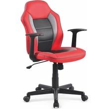 NEMO fotel młodzieżowy czerwono-czarny
