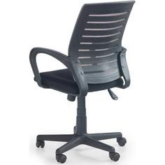 SANTANA fotel pracowniczy czarno-popielaty