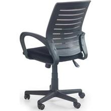 Fotel biurowy z siatki SANTANA popielaty Halmar do biurka.