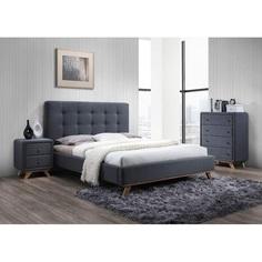Łóżko Melissa szary