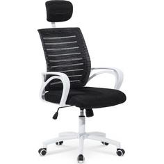 SOCKET fotel pracowniczy biało-czarny