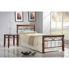 VERONICA łóżko 90 cm czereśnia ant. Halmar