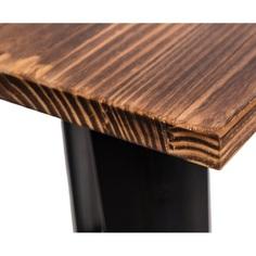 Stół Paris Wood czarny sosna