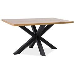 Stół Cross dąb / czarny