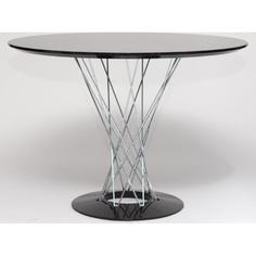 Stół Cyklon okrągły, czarny
