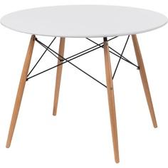Stół DTW 100 cm, blat biały