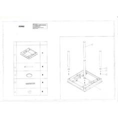 Stół GD-082 czarny